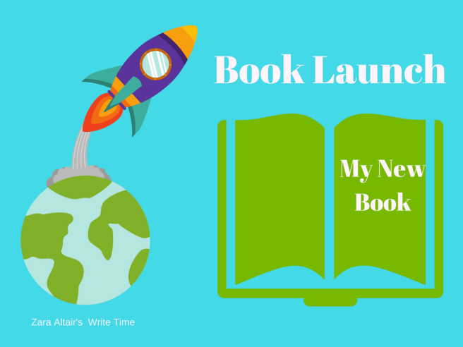 book launch for a new book