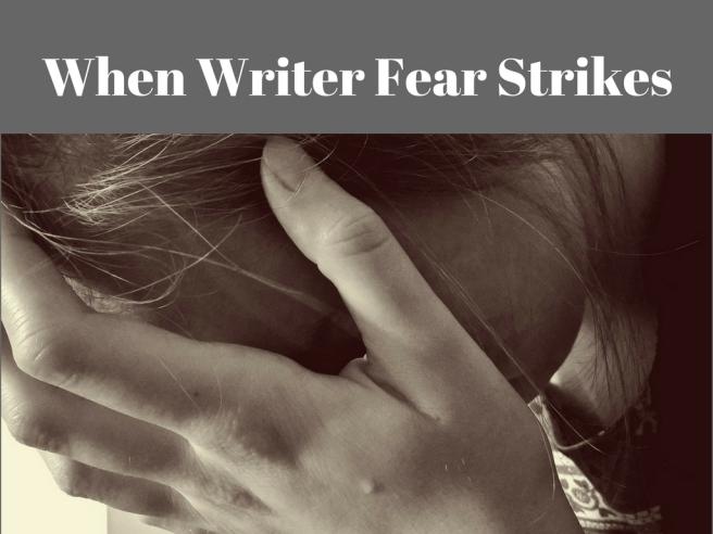 writer fear, woman in despair, writer in despair